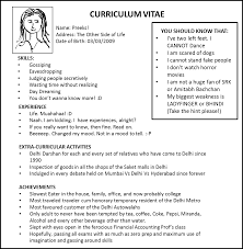 Stunning I Want To Make My Own Resume With Additional Me Examples Of Resumes Show A Sample Good Example How