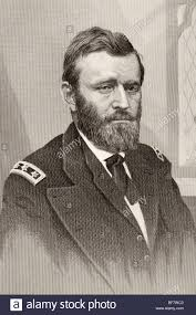 Ulysses S Grant 1822 To 1885 Union General In American Civil War And
