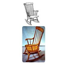 Woodworking Project Paper Plan To Build Boston Rocking Chair ...