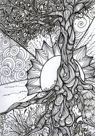 1000 Images About Coloring Pages Tree Of Life On Pinterest