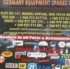 Germany Equipment Spares Ltd Truck Parts Dealers - Home | Facebook