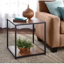 Glass Living Room Table Walmart by Metal Coffee Tables Walmart Com Rollback Mainstays Metro Table