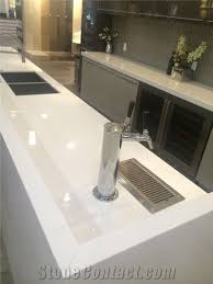 104 Glass Kitchen Counter Tops Crystallized Stone Tops White Nano Stone Tops From China Stonecontact Com
