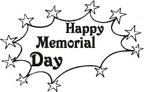 Happy Memorial Day Coloring Pages