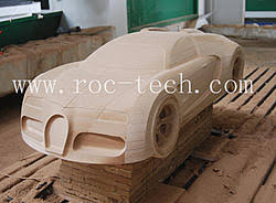 5 axis cnc router professional for model making