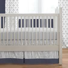 Stylish Navy Crib Bedding