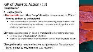 High Ceiling Loop Diuretics Adverse Effects by Clinical Pharmacology Of Drugs Used To Affect Renal Function