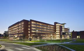 University of Colorado Hospital Parking Garage Haselden Construction