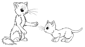 Warrior Cats Kits Coloring Pages