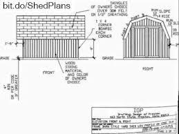 16x20 Gambrel Shed Plans by Gambrel Roof 10 U0027 X 12 U0027 Barn Style Shed Plan Youtube