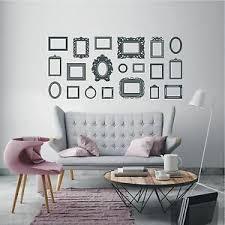 details zu wandtattoo wandaufkleber rahmen bilder aufkleber wohnzimmer deko motiv 748 xl
