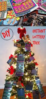 Fun And Easy Gift For Any Occassion Great Holiday DIY Instant Lottery Tree