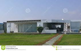 100 Modern Summer House In Asia District South Of Lima Stock Image