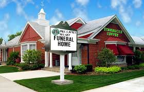 funeral home starbucks opens in funeral home culture