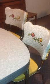 Retro Kitchen Chairs Walmart by 216 Best Vintage Kitchen Tables Images On Pinterest Retro