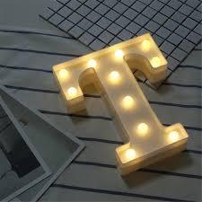 LED White Letter Lights Letter Lights
