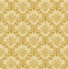 Seamless antique pattern victorian style light brown wallpaper