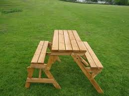 beautiful folding wooden picnic table diy folding wooden picnic