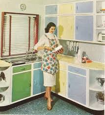 Synthetic Materials Were Easier To Maintain And Modernized Appliances Meant Women Had More Time Care About Kitchen Design Aesthetics