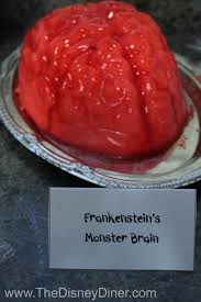 Halloween Jello Molds Brain by The Disney Diner Halloween Party Snacks And Recipes