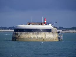 100 Spitbank Fort Outside Portsmouth Harbour This Is One Of Th