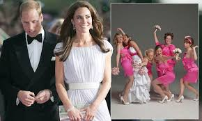 Duchess Of Cambridge Kate Middleton And Prince William Go To Watch Bridesmaids