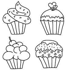 Cupcake black and white cupcake clipart black and white 6 2