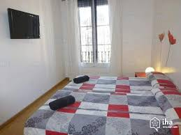 chambre à barcelone location appartement à barcelone iha 28228
