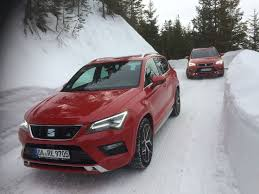 The SEAT snow driving experience in Austria Daily Record