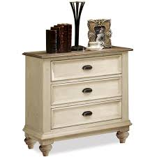 riverside furniture coventry two tone 3 drawer night stand ahfa