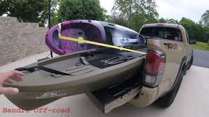 100 Pickup Truck Kayak Rack No Bed S Needed How To Haul S In YOUR Tacoma YouTube