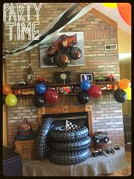 Monster Truck Birthday Party | Monster Truck Birthday Ideas ... Monster Truck Cupcakes Archives Kids Birthday Parties Monster Truck Party Ideas At In A Box Cakes Decoration Little Fire Cake Wedding Academy Creative Coolest Car My Practical Guide Design Birthday Party Ideas Carters Bday Pinterest Laraes Crafty Corner What Ive Been Creatively Quirky Home May 2012 Monster Drink Banner