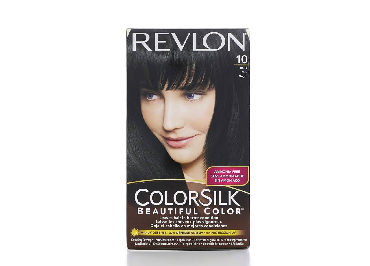 Revlon Colorsilk Beautiful Permanent Hair Color - 10 Black