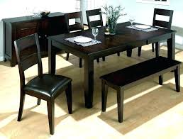 Full Size Of Black Dining Table With Bench Wooden Tables Benches Image Rustic Wood Kitchen Dark
