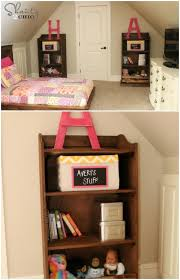 Pottery Barn Inspired Bookcase