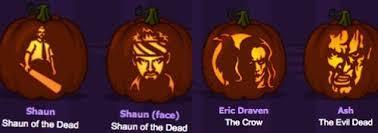 Walking Dead Pumpkin Stencils Free Printable by Pumpkin Carving Horror Freak Style