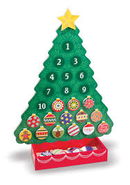 Menards Christmas Trees Black Friday by Melissa U0026 Doug Countdown To Christmas Wooden Advent Calendar