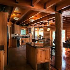 lighting flooring log cabin kitchen ideas limestone countertops