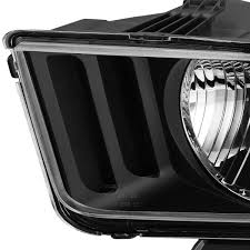09 ford mustang replacement headlights black
