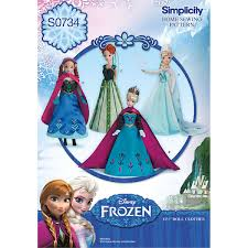 One Size Simplicity FrozenOne Size Simplicity Frozen Kids