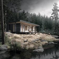 Lake cabin on Behance