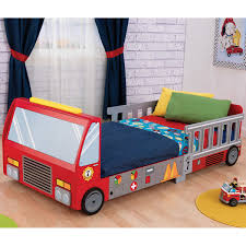 100 Toddler Truck Bedding Fire Bed
