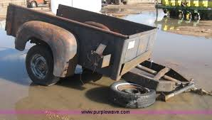 Pickup bed trailer Item E3150