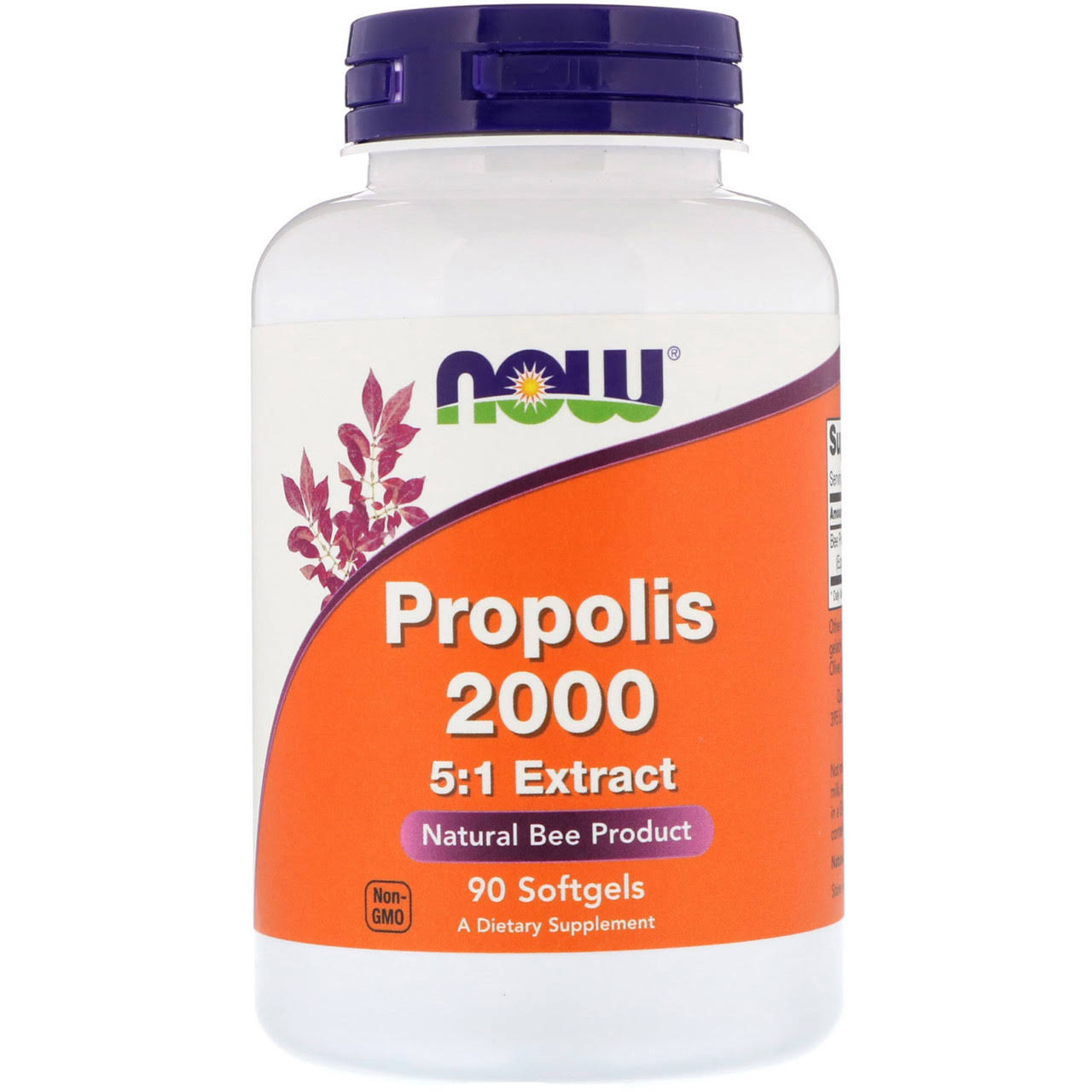 Now Foods Propolis 2000 Dietary Supplement - 90ct