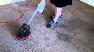 Oreck Floor Machine Pads by Using The Oreck Orbiter To Clean Floors And Carpets Youtube