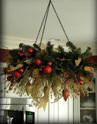 Here Christmas Home Decor Vintage Chandelier
