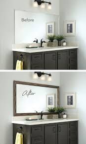 21 Bathroom Mirror Ideas To Inspire Your Home Refresh | Home Stuff ... 21 Bathroom Mirror Ideas To Inspire Your Home Refresh Colonial 38 Reflect Style Freshome Amazing Master Frame Lowes Bath Argos Sink For 30 Most Fine Custom Frames Picture Large Mirrors 25 Best A Small How Builders Grade Before And After Via Garage Wall Sconces Framing A Big Of With Diy Reason Why You Shouldnt Demolish Old Barn Just Yet Kpea Hgtv Antique Round The Super Real