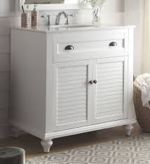36 Inch White Vanity Without Top by Bathrooms Design Inch Bathroom Vanity Coastal Cottage Beach