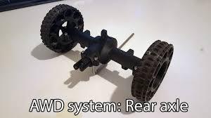 100 Rc Truck Wheels 3D Printed RC Truck V3 Single Rear AxleSingle Wheels Setup By