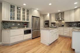 Medium Beige Luxury Vinyl Tile In A Kitchen Backsplash Ideas With White Cabinets What Color
